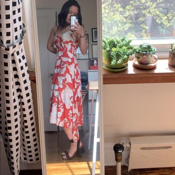 Derek Lam Dresses & Skirts - Derek Lam red midi dress
